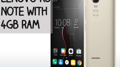 Lenovo Vibe K5 Note Apparently to Feature 4GB RAM