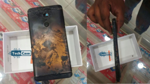 Xiaomi Redmi Note 4 Explodes Into Flames on Video