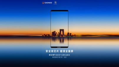 Gionee M7 Launch Set for September 25, Front Panel Leaked in Live Images