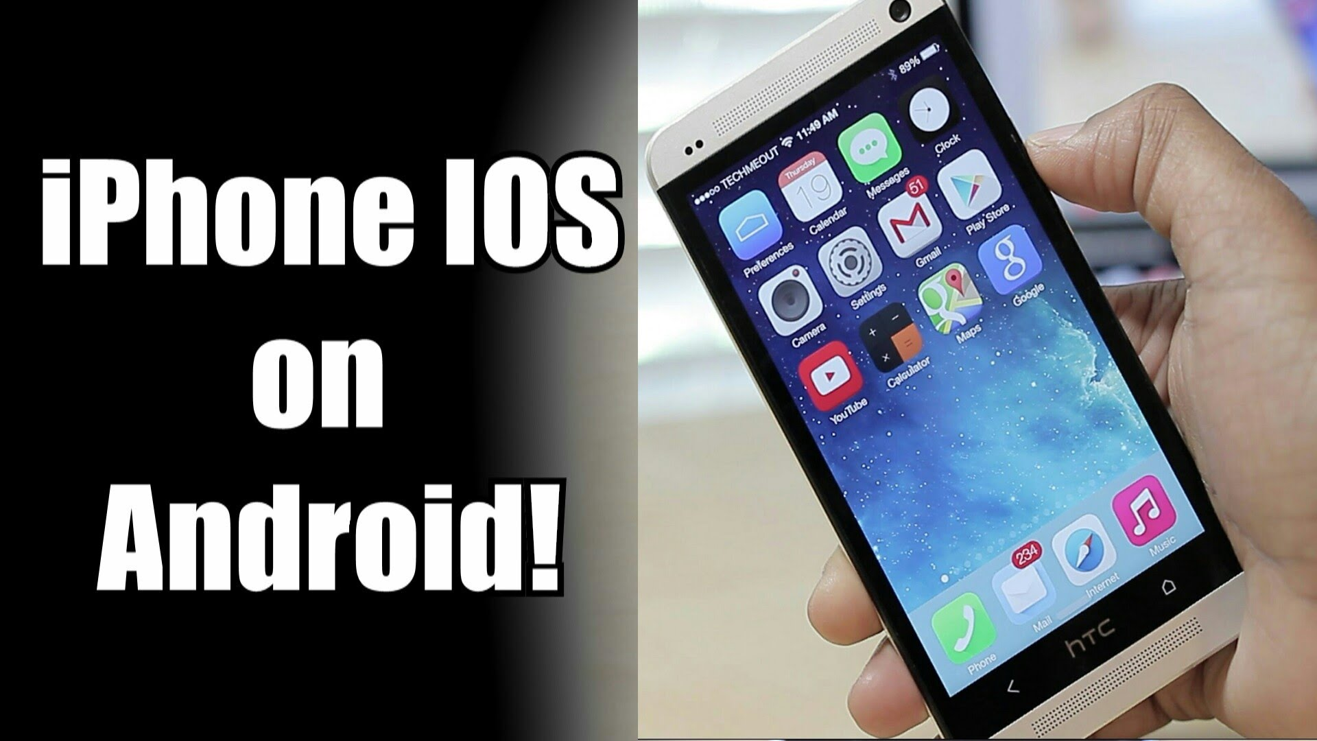 Easy way to download ios rom on android phone | ios on android - Geek